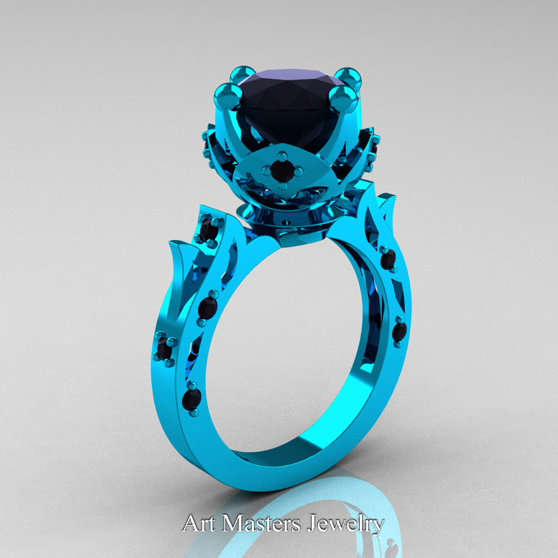 full artemer p on rings turquoise ring diamond carat size trillion solid gold from engagement