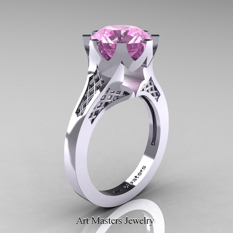 rings diamond solitaire wedding fire ring glacier product canadian engagement