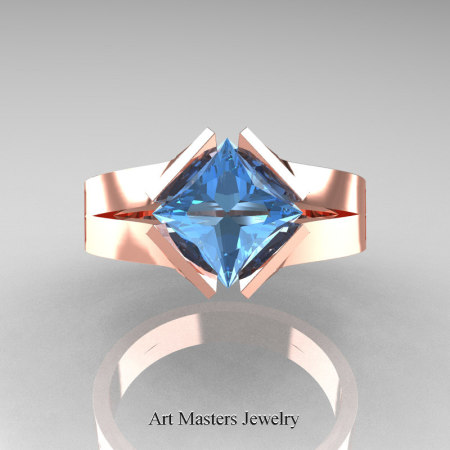 Neomodern-14K-Rose-Gold-1-5-Carat-Princess-Blue-Topaz-Engagement-Ring-R389-14KRGBT-T