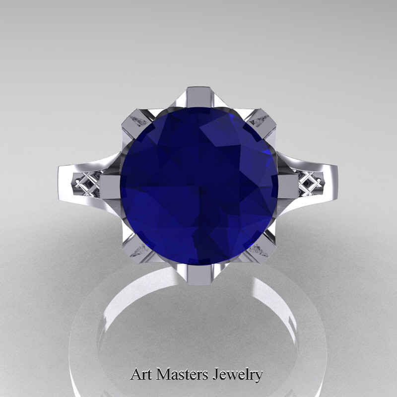 products a sapphire cushion with zirconia stud hued prongs silver kgp studs cut carat cubic