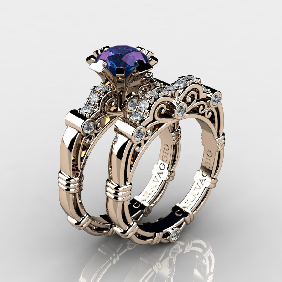 renaissance for engagement wedding style rings popular