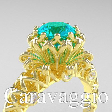 Caravaggio-Lace-14K-Yellow-Gold-1-0-Carat-Blue-and-White-Diamond-Engagement-Ring-R634-14KYGDBLD-PXL