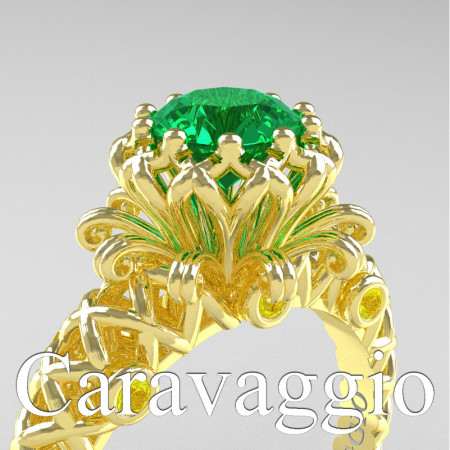 Caravaggio-Lace-14K-Yellow-Gold-1-0-Carat-Emerald-Yellow-Sapphire-Lace-Engagement-Ring-R634-14KYGYSEM-PXL