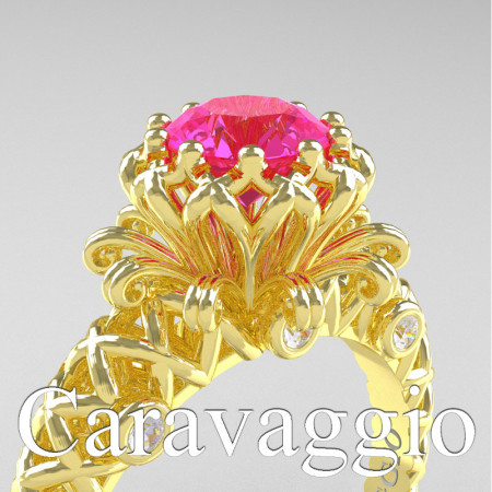 Caravaggio-Lace-14K-Yellow-Gold-1-0-Carat-Pink-Sapphire-Diamond-Engagement-Ring-R634-14KYGPS-PXL