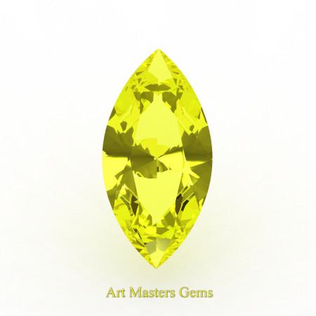 Art-Masters-Gems-Standard-0-5-0-Ct-Marquise-Yellow-Sapphire-Created-Gemstone-MCG0050-YS