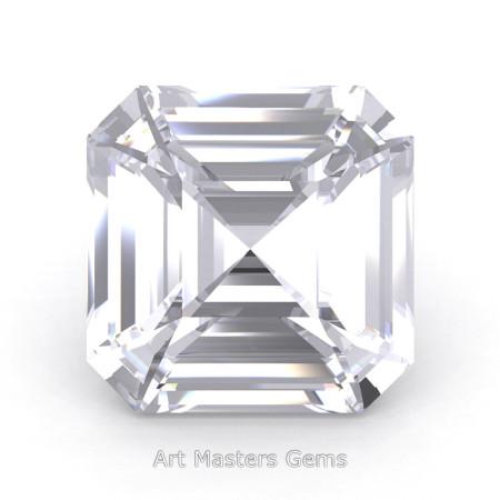 Art-Masters-Gems-Standard-0-7-5-Carat-Asscher-Cut-White-Sapphire-Created-Gemstone-ACG075-WS-T