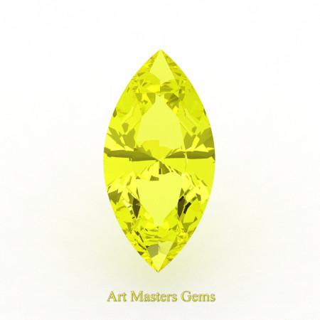 Art-Masters-Gems-Standard-0-7-5-Ct-Marquise-Yellow-Sapphire-Created-Gemstone-MCG0075-YS