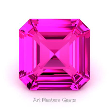 Art-Masters-Gems-Standard-1-0-0-Carat-Asscher-Cut-Pink-Sapphire-Created-Gemstone-ACG100-PS-T