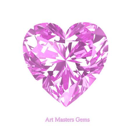 Art-Masters-Gems-Standard-1-0-0-Carat-Heart-Cut-Light-Pink-Sapphire-Created-Gemstone-HCG100-LPS-T