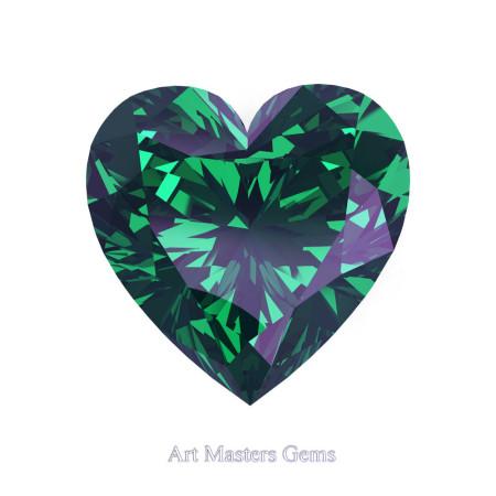 Art-Masters-Gems-Standard-1-0-0-Carat-Heart-Cut-Russian-Alexandrite-Created-Gemstone-HCG100-RAL-T2