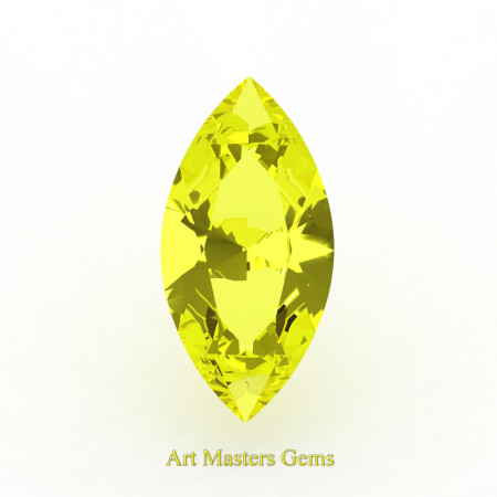 Art-Masters-Gems-Standard-1-0-0-Ct-Marquise-Yellow-Sapphire-Created-Gemstone-MCG0100-YS