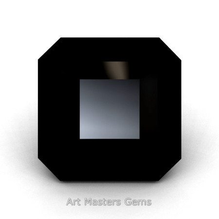 Art-Masters-Gems-Standard-1-5-0-Carat-Asscher-Cut-Black-Diamond-Created-Gemstone-ACG150-BD-T