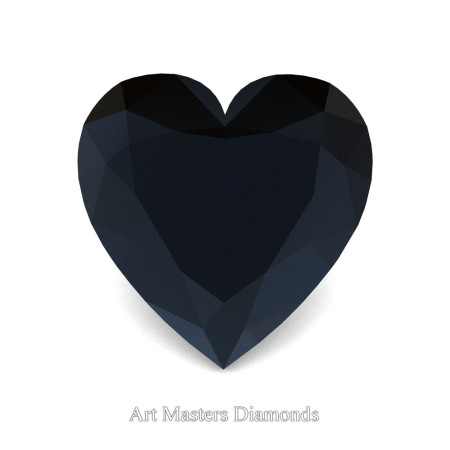 Art-Masters-Gems-Standard-1-5-0-Carat-Heart-Cut-Black-Diamond-Created-Gemstone-HCG150-BD-T