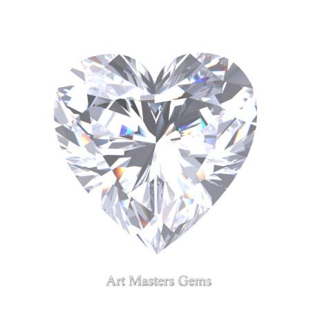 Art-Masters-Gems-Standard-1-5-0-Carat-Heart-Cut-White-Sapphire-Created-Gemstone-HCG150-WS-T