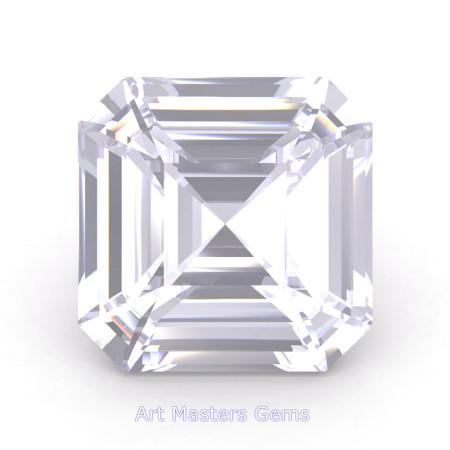 Art-Masters-Gems-Standard-2-0-0-Carat-Asscher-Cut-White-Sapphire-Created-Gemstone-ACG200-WS-T