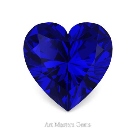 Art-Masters-Gems-Standard-2-0-0-Carat-Heart-Cut-Blue-Sapphire-Created-Gemstone-HCG200-BS-T
