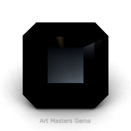 Art-Masters-Gems-Standard-3-0-0-Carat-Asscher-Cut-Black-Diamond-Created-Gemstone-ACG300-BD-T