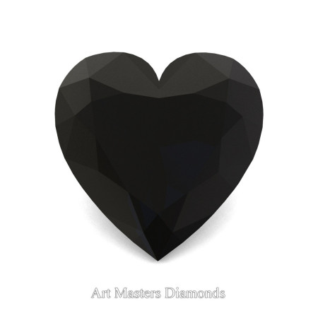 Art-Masters-Gems-Standard-3-0-0-Carat-Heart-Cut-Black-Diamond-Created-Gemstone-HCG300-BD-T
