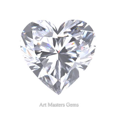 Art-Masters-Gems-Standard-3-0-0-Carat-Heart-Cut-White-Sapphire-Created-Gemstone-HCG300-WS-T