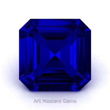 Art-Masters-Gems-Standard-3-0-0-Carat-Royal-Asscher-Cut-Blue-Sapphire-Created-Gemstone-RACG300-BS-T