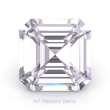 Art-Masters-Gems-Standard-3-0-0-Carat-Royal-Asscher-Cut-White-Sapphire-Created-Gemstone-RACG300-WS-T2