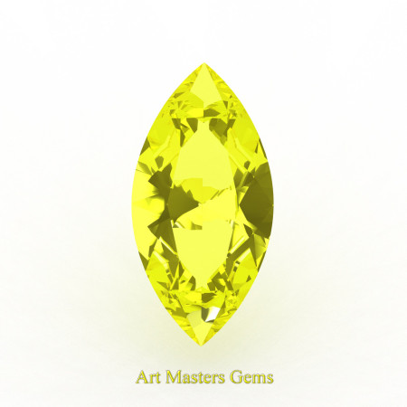 Art-Masters-Gems-Standard-3-0-0-Ct-Marquise-Yellow-Sapphire-Created-Gemstone-MCG0300-YS