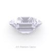 Art-Masters-Gems-Standard-4-0-0-Carat-Asscher-Cut-White-Sapphire-Created-Gemstone-ACG400-WS-F
