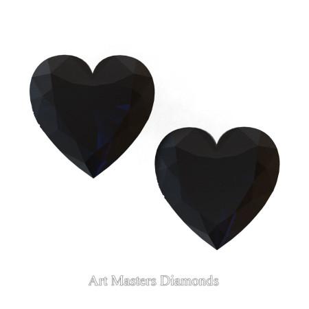 Art-Masters-Gems-Standard-Set-of-Two-0-7-5-Carat-Heart-Cut-Black-Diamond-Created-Gemstones-HCG75S-BD-T