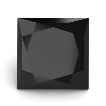 Art-Masters-Gems-Calibrated-1-25-Ct-Princess-Black-Diamond-Created-Gemstone-PCG0125-BD2