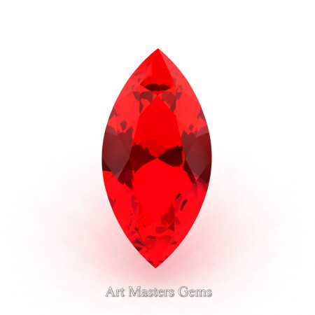 Art-Masters-Gems-Calibrated-3-0-0-Ct-Marquise-Fire-Ruby-Created-Gemstone-RMCG0300-FR