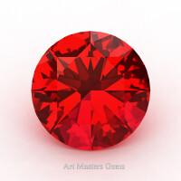 Art Masters Gems Calibrated 2.0 Ct Round Ruby Created Gemstone RCG0200-R